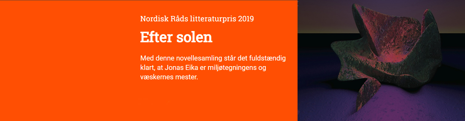 Jonas Eika - Nordisk Råds Litteraturpris