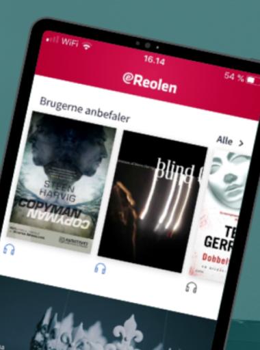 Ny på eReolen - hent app'en!