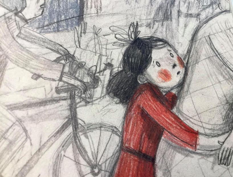 Den dag freden forsvandt: Lyt og oplev højtlæsning af Anna Margrethe Kjærgaards fint illustrerede bog om hendes mors historie