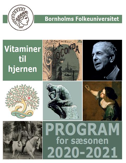 Bornholms Folkeuniversitet - programmet for den nye sæson er parat!