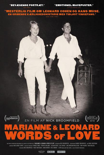 Nyt på Filmstriben: Words of love - Marianne & Leonard