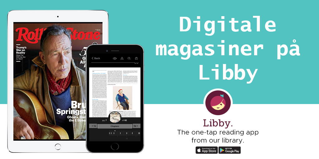 Digitale magasiner på Libby