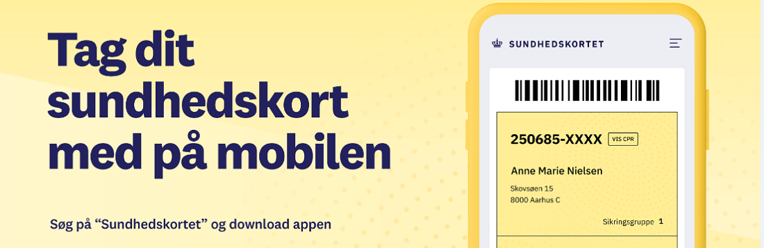 Nu kan du hente det gule sundhedskort på en app
