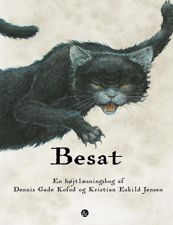 Vi anbefaler: 'Besat' - en billedbog for modige børn!