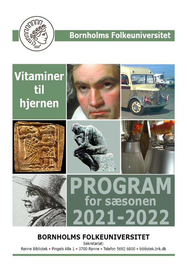 Folkeuniversitetets program 2021-22