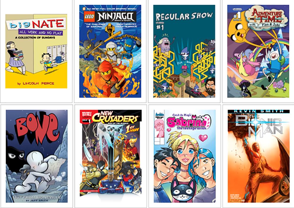 Vi anbefaler: ComicsPlus - ubegrænset adgang til tegneserier!