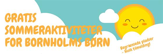 Sommeraktiviteter på Bornholm 2020