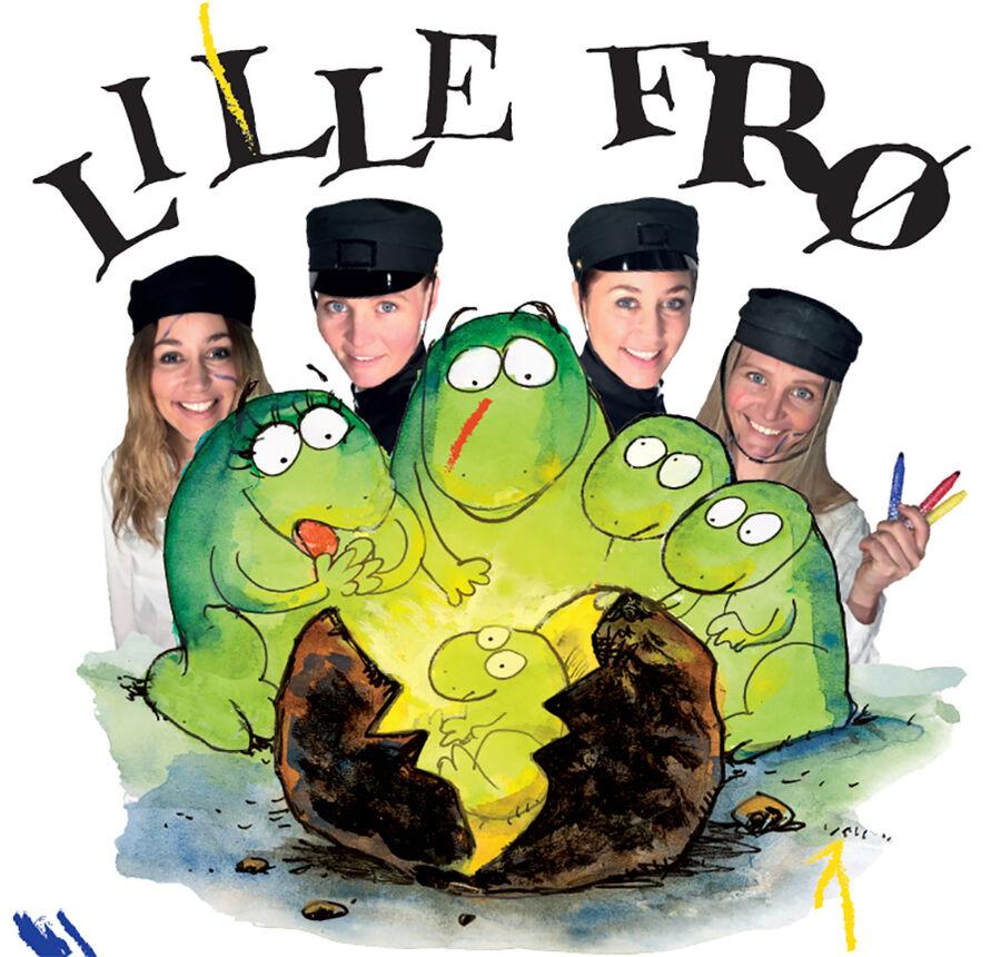 Teater for små børn: Lille frø