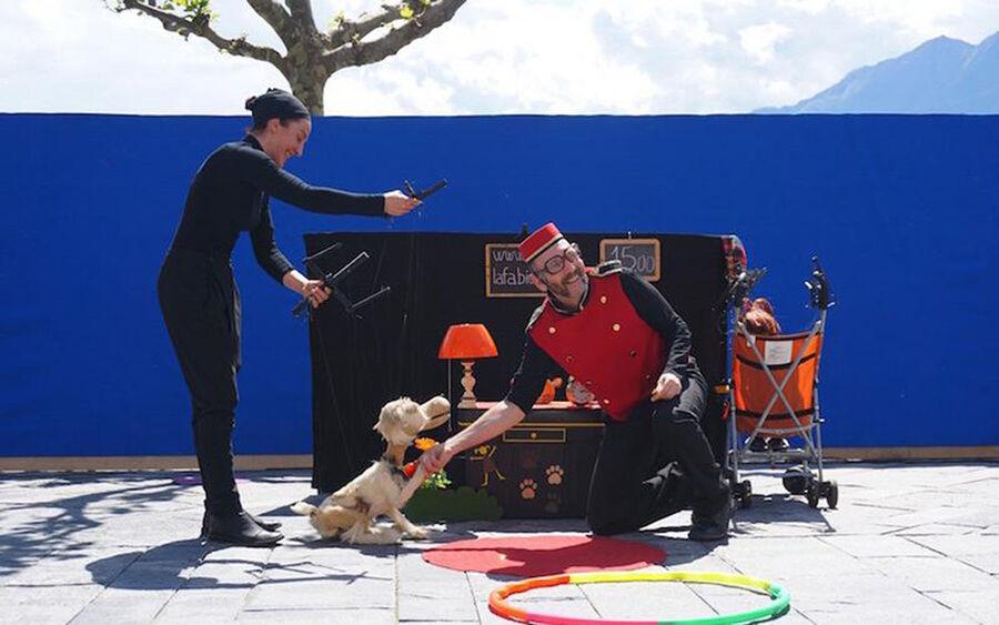 Gadeteaterfestival: Fabiola & Hunden, 26. juli kl. 11
