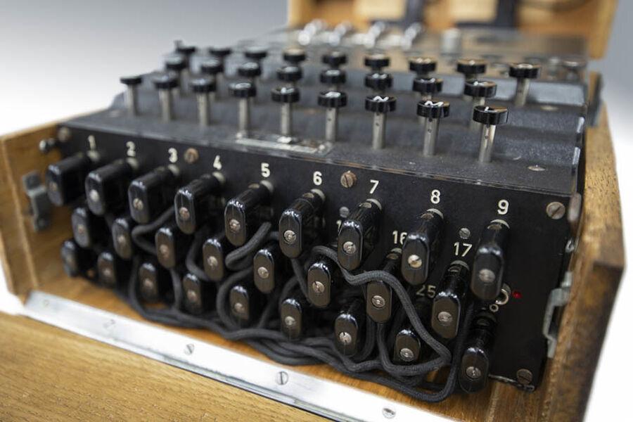 Enigma og slaget om Atlanten - 2.10. på Rønne Bibliotek