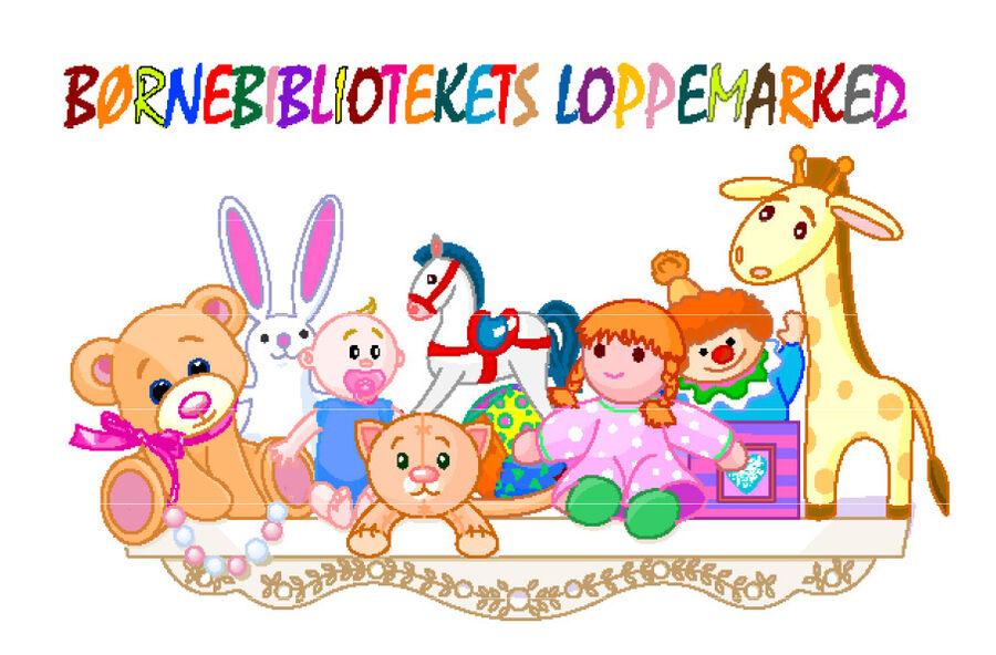 Børnebibliotekets loppemarked d. 29. februar 2020