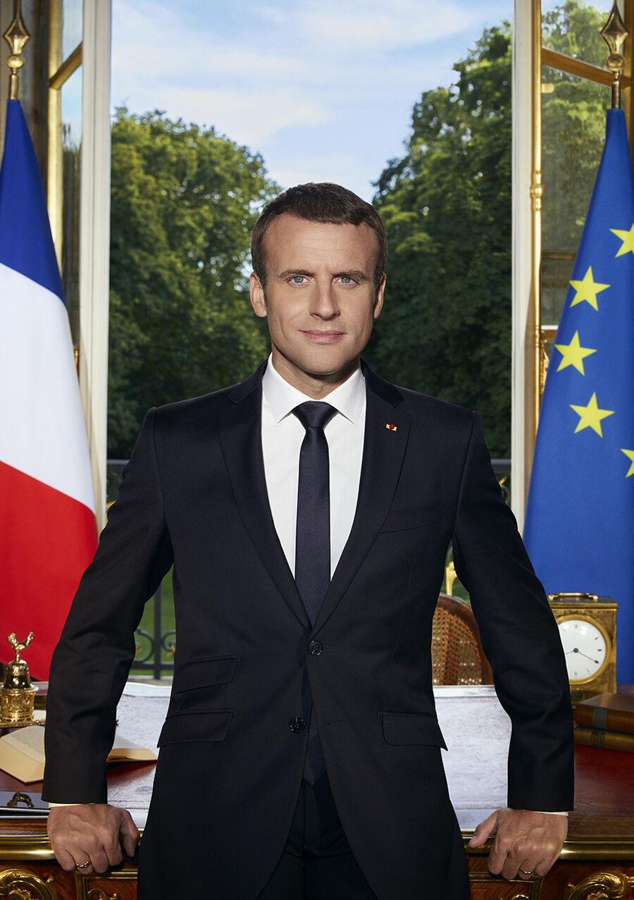 Emmanuel Macron møder danske studerende, livestream fra Den Sorte Diamant, 28.8.18