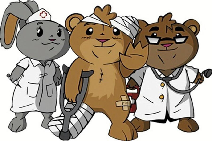 Bamsehospitalet åbner på Rønne Bibliotek d. 15. juni!