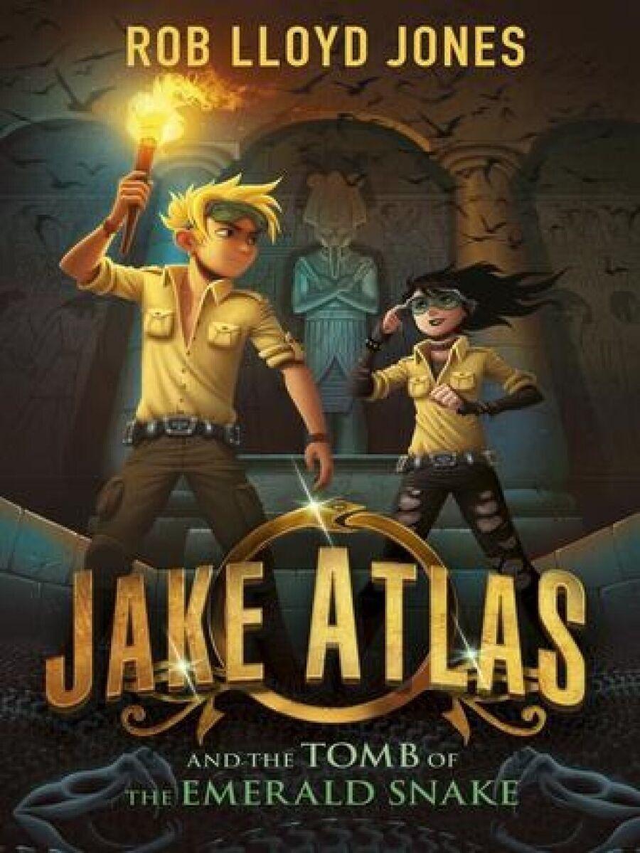Jake Atlas - Smaragdslangens grav af Rob Lloyd Jones