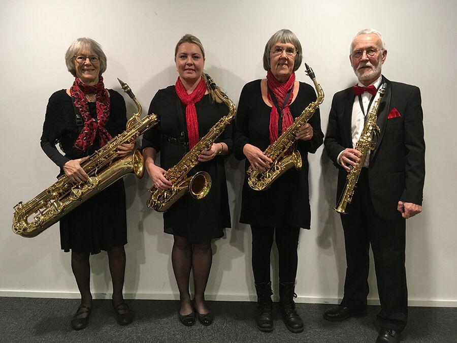 Julekoncert med Bornholms Saxofonkvartet