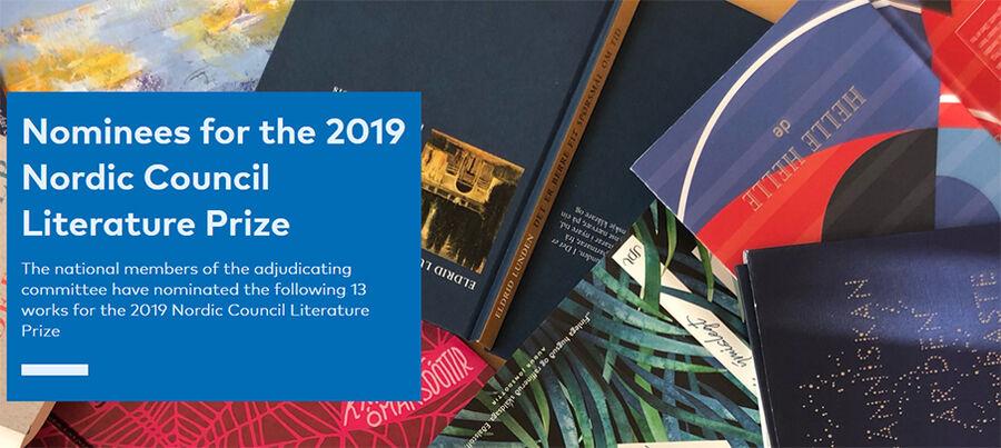 Nordisk Råds Litteraturpris 2019
