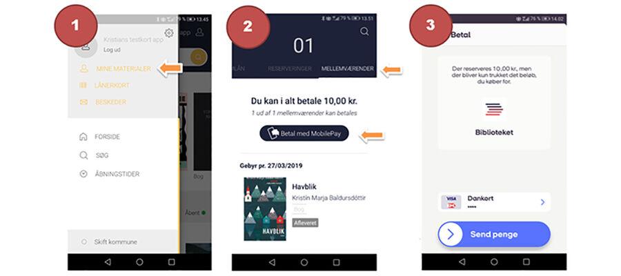 Betal gebyrer med Mobile Pay