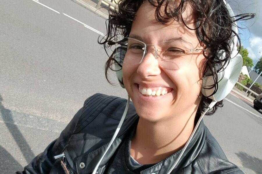 Biblioteksmedhjælper Jasmin Würtz