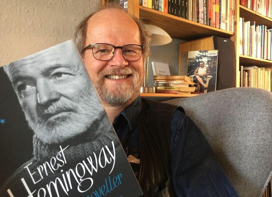 Inspiration: Biblioteksleder Jon Madsen er bidt af Ernest Hemingways forfatterskab