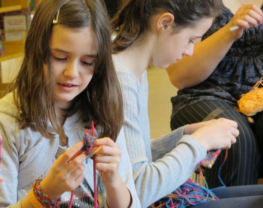 INSPIRATION: Maj-Britt giver dig ideer til hjemmeskolingens håndarbejdstimer