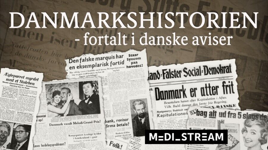Historiske aviser via Mediestream
