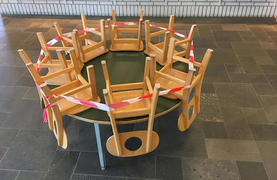 Vi åbner mandag d. 18. maj på Rønne Bibliotek