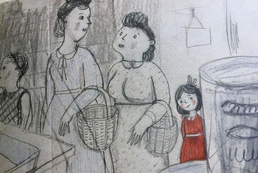 En vigtig del af Bornholms historie kan alle lære om i den fine billedbog 'Mit hus - den dag freden forsvandt'. Det er illustrator og rønnebo Anna Margrethe Kjærgaard, som fortæller sin mors historie - Kirsten Kjærgaard var en lille pige, den dag bomberne
