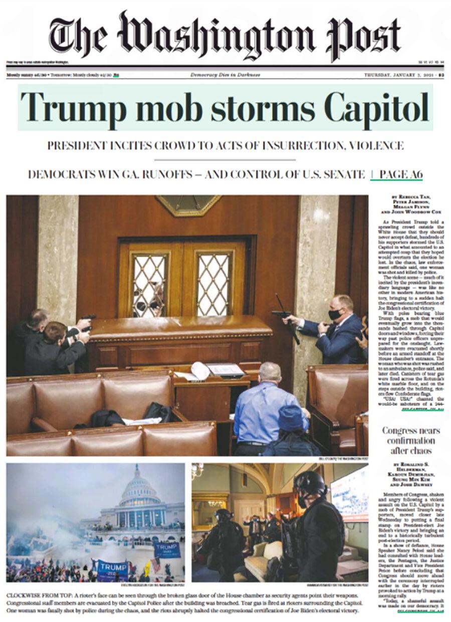 Kaos i Washington - læs de amerikanske aviser