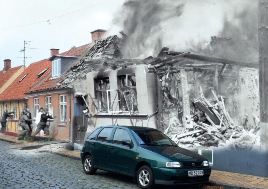 Vi mindes: Bombningen af Rønne 7. maj 1945