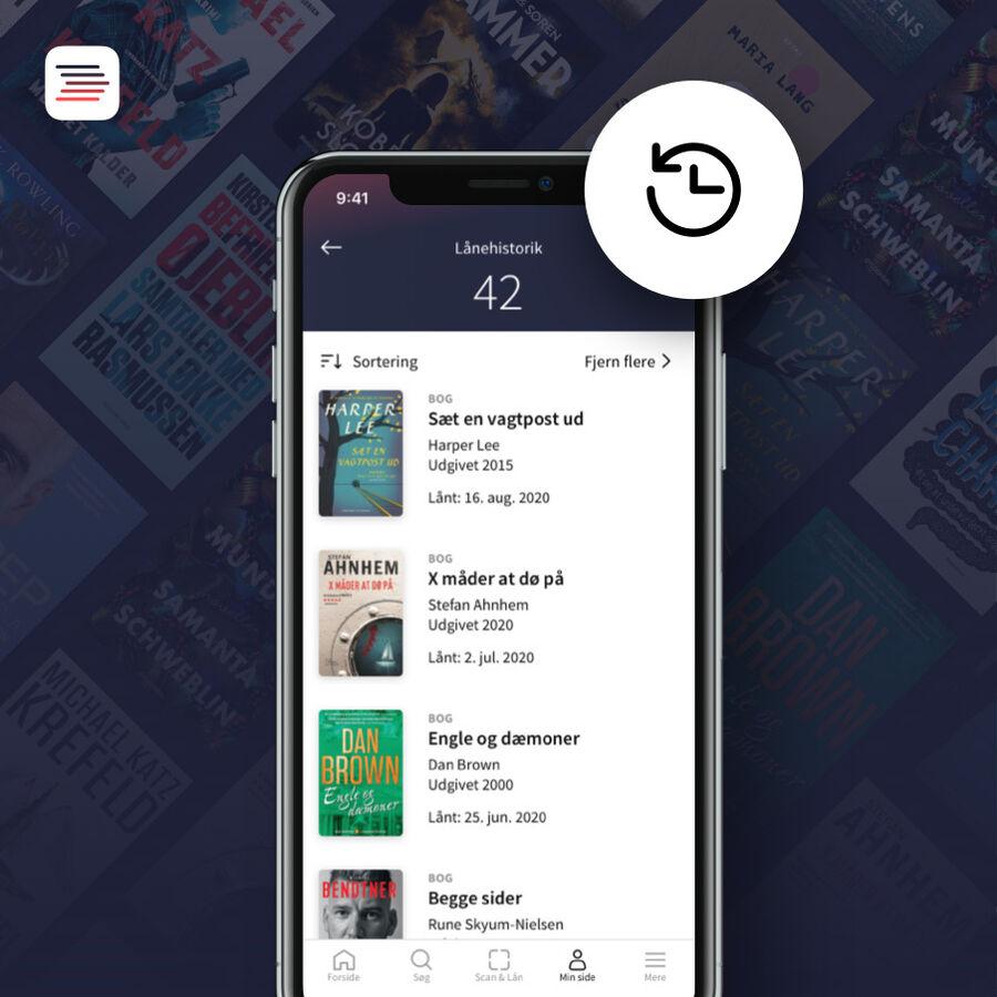 Husk hvad du har lånt - ny funktion app'en