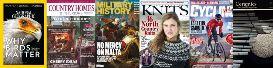 Masser af fede internationale magasiner